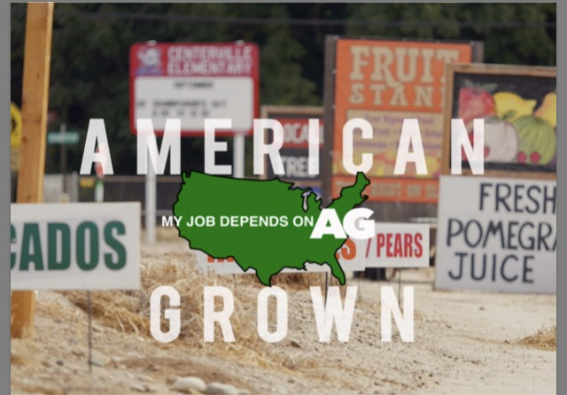 My Job Depends on Ag's American Grown Logo